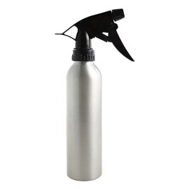 Silver Spray Bottle